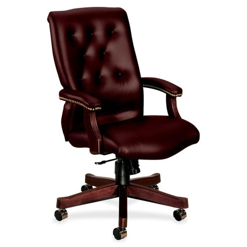 HON 6541 Executive High Back Chair HON6541NEJ65, Red (UPC:089192756766)