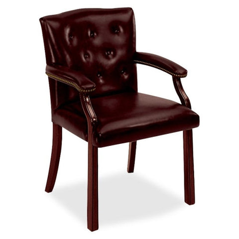 HON 6545 Leg Base Guest Chair HON6545NEJ65, Red (UPC:020459454070)