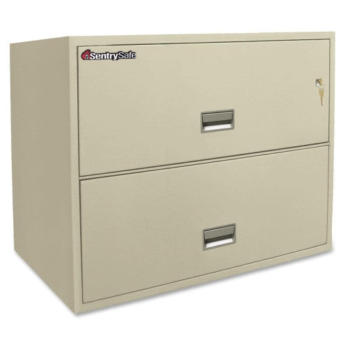 Sentry 2L3610P Lateral Fire File Cabinet SEN2L3610P, Putty (UPC:049074011369)