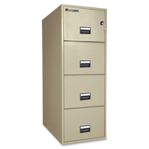 Sentry Vertical Fire File Cabinet SEN4G3131P, Putty (UPC:049074011697)