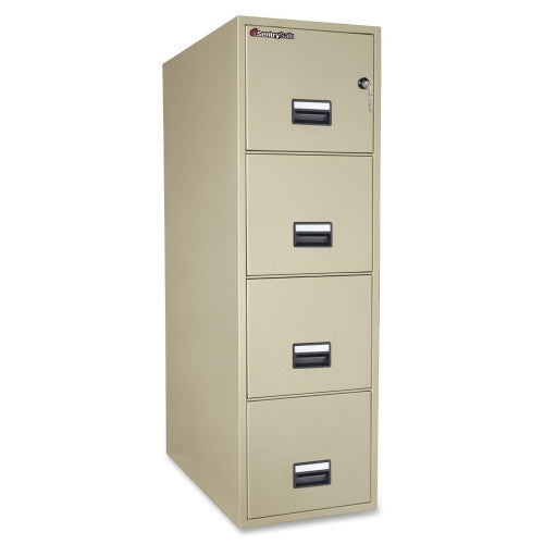 Sentry Vertical Fire File Cabinet SEN4T3131P, Putty (UPC:049074011635)
