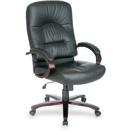 Lorell Woodbridge Series Executive High-Back Chair ; UPC: 035255603386