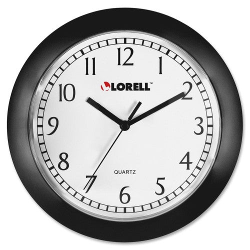 Lorell Round Profile Wall Clock ; UPC: 035255609876