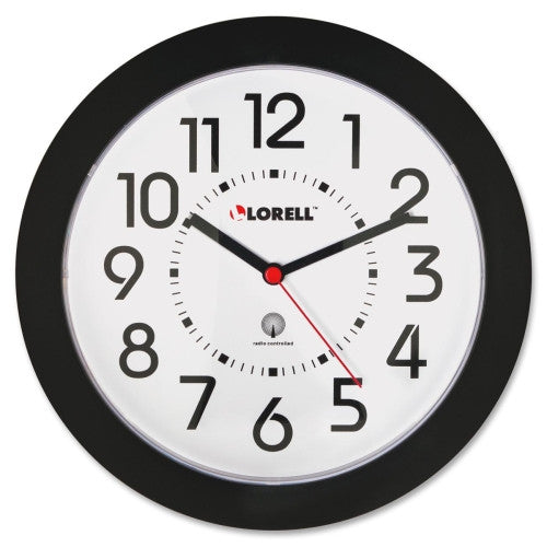 Lorell Radio Controlled Wall Clock ; UPC: 035255609906