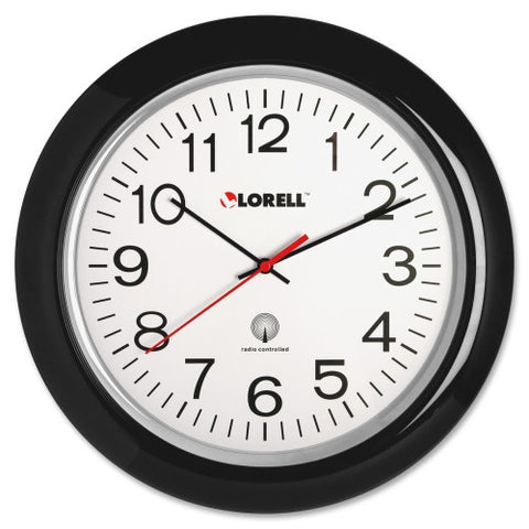 Lorell Radio Controlled Wall Clock ; UPC: 035255609944