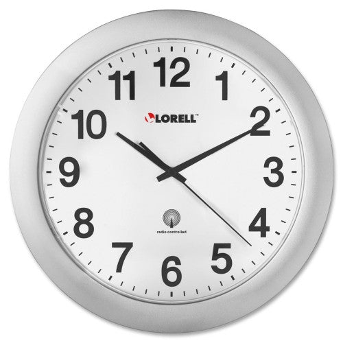 Lorell Radio Controlled Wall Clock ; UPC: 035255609968