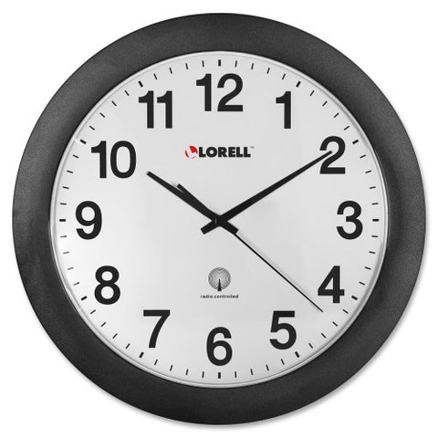 Lorell Radio Controlled Wall Clock ; UPC: 035255609975