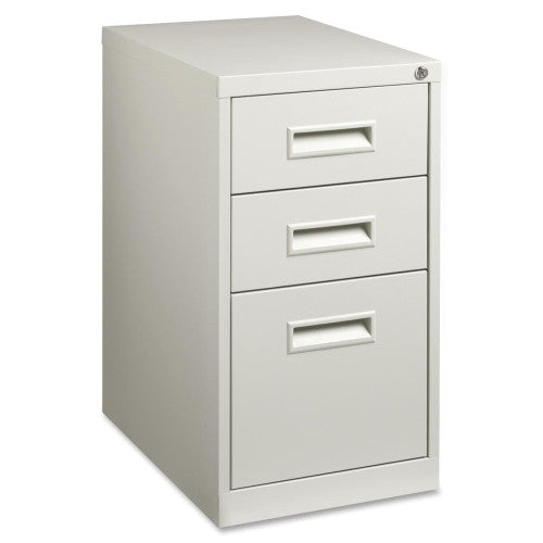 Lorell Box/Box/File Mobile Pedestal Files LLR67743, Gray (UPC:035255677431)
