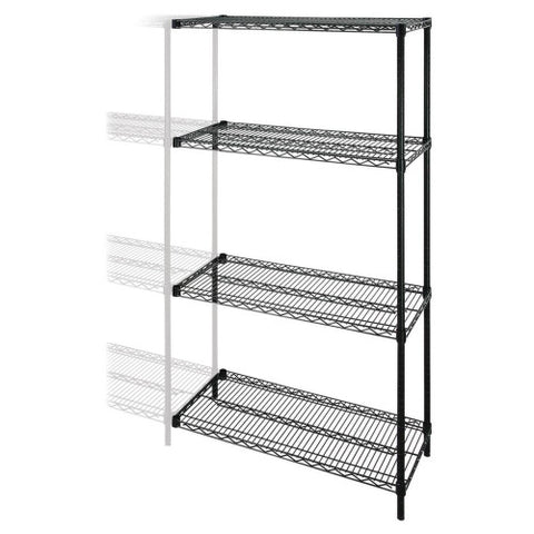 Lorell Industrial Wire Shelving Add-On-Unit ; UPC: 035255691376