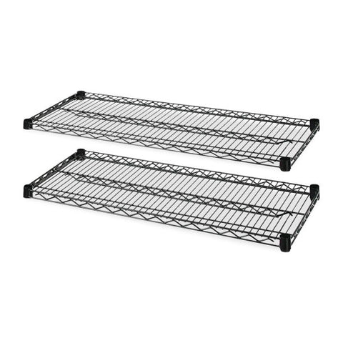 Lorell 4-Tier Wire Rack with Shelves ; UPC: 035255691390