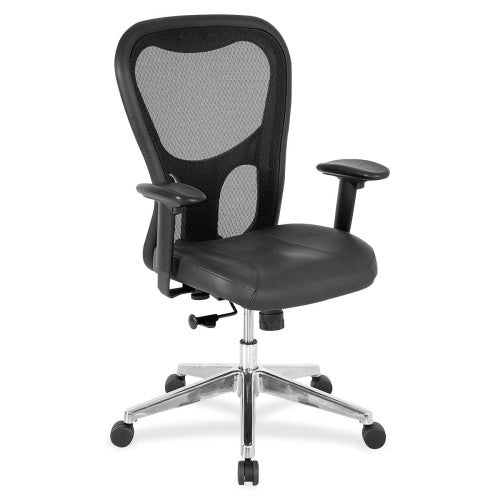 Lorell Mid Back Executive Chair ; UPC: 035255850360