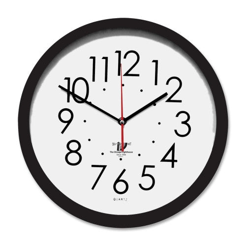 Chicago Lighthouse Contemporary SelfSet Wall Clock ; (830951003931)