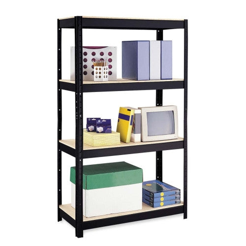 Hirsh 500 Series Shelve Unit HID17187, Black (UPC:029404171871)