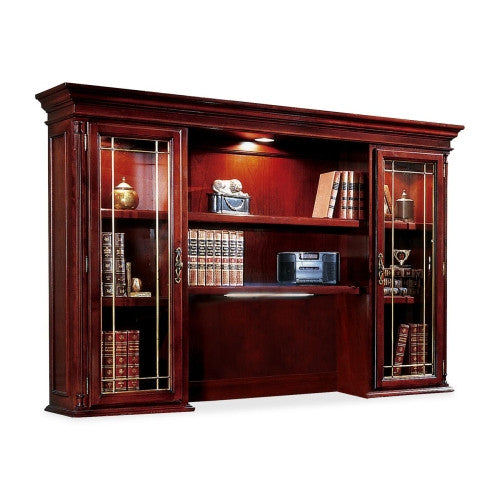 DMi Keswick 7990-64 Executive Overhead Storage Hutch DMI799064, Cherry (UPC:095385064334)