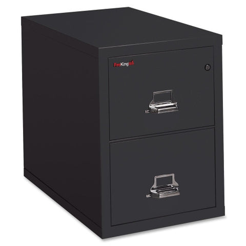 FireKing 2-1831-C Vertical File Cabinet FIR21831CBL, Black (UPC:033983036025)