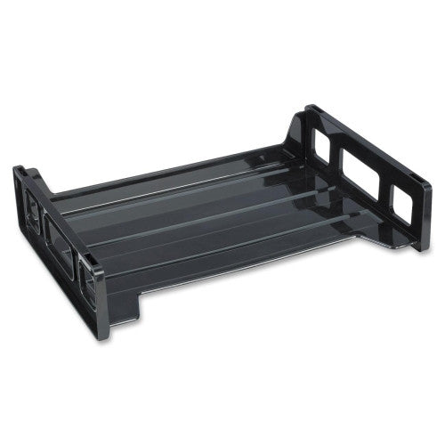 Business Source Side-loading Letter Tray BSN42585, Black (UPC:035255425858)