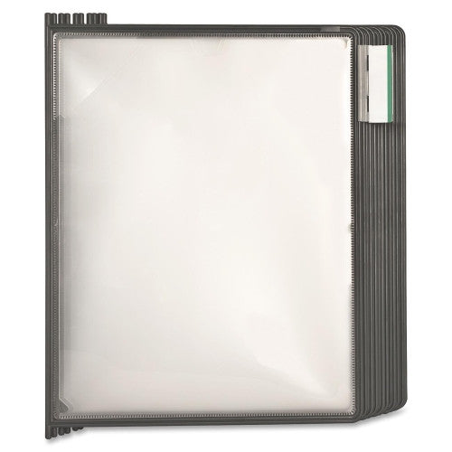 Business Source Replacement Panels for Deluxe Catalog Rack BSN62891, Gray (UPC:035255628914)