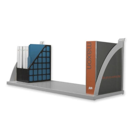 HON Verse VSH60 Partition Mounted Shelf BSXVSH60GYGY, Gray (UPC:035349529639)