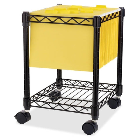 Lorell Compact Mobile Wire Filling Cart ; UPC: 035255629508