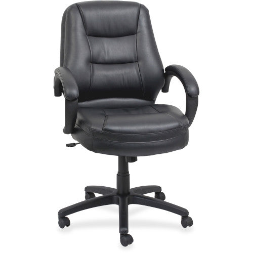 Lorell Westlake Mid Back Managerial Chair ; UPC: 035255632874