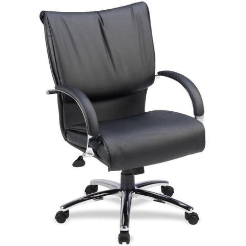 Lorell Mid-Back Dacron-Filled Cushion Management Chair ; UPC: 035255695152