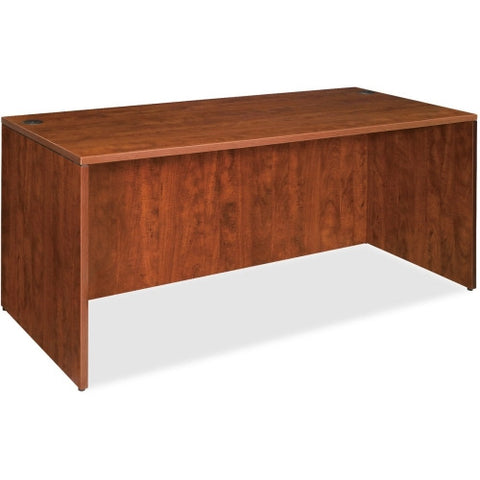 "Lorell Essentials 66"" Rectangular Desk Shell in Cherry"