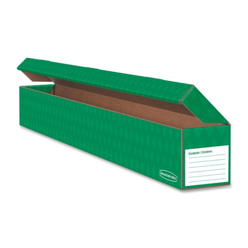 Fellowes Trimmer Storage Boxes FEL3380501, Green (UPC:043859607242)
