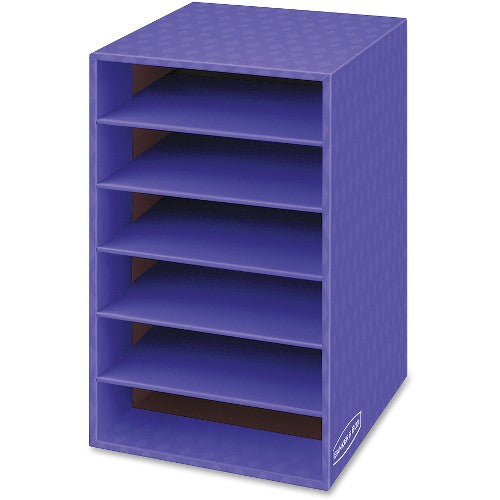 Bankers Box 6 Shelf Organizer FEL3381201 ; UPC: 043859607310