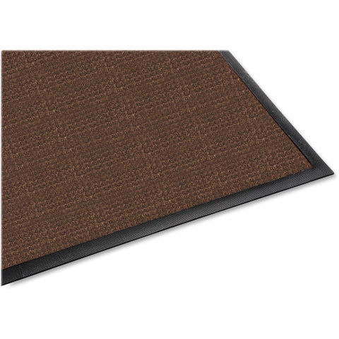 Genuine Joe Waterguard Indoor / Outdoor Mat GJO58842, Brown (UPC:035255588423)