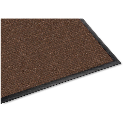 Genuine Joe Waterguard Indoor / Outdoor Mat GJO58843, Brown (UPC:035255588430)