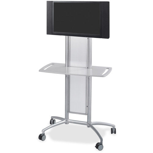 Safco Impromptu Flat Panel TV Cart SAF8926GR, Black (UPC:073555892635)