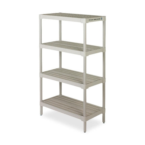 Continental Ventilated Storage Shelf CMC6485OY, Gray (UPC:020027051267)