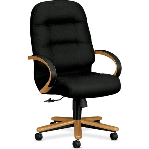 HON Pillow-Soft 2191 High Back Executive Chair HON2191CNT10, Black (UPC:089192757619)
