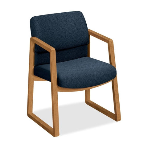 HON 2403 Guest Chair HON2403CAB90, Blue (UPC:089192981328)