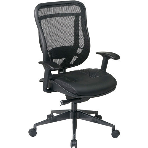 Office Star Mesh Back Executive Chair OSP81841G9C18P, Black (UPC:090234200468)