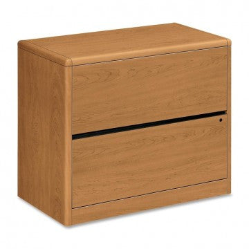 "HON_HON 10700 Series Two Drawer Lateral File - 36"" Wide Laminate_Harvest / Factory Direct	 - 1"