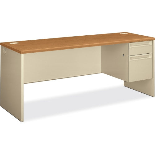 HON 38856R Credenza with Lock HON38856RCL, Cherry (UPC:089192141791)