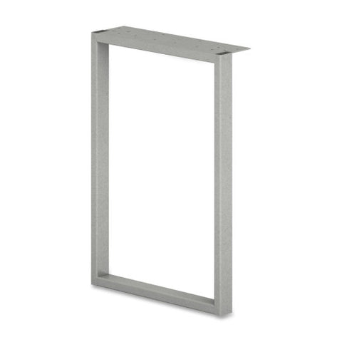 HON Steel Voi Steel O-Leg Support for Overhead Cabinet ; Color: Platinum Metallic; UPC: 020459180399