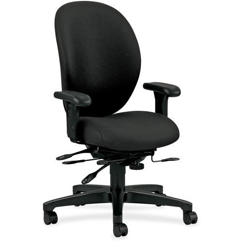 HON Unanimous H7608 High Back Task Chair HON7608CU10T, Black (UPC:089192321629)