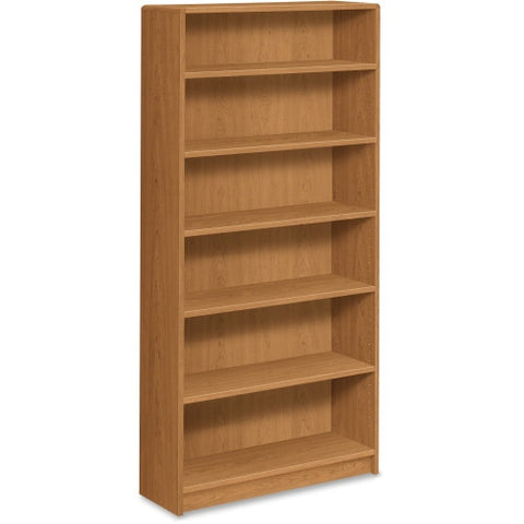 HON 1890 Series Harvest Laminate Bookcase HON1896C, Harvest (UPC:089191122630)