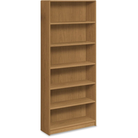 HON 1890 Series Harvest Laminate Bookcase HON1897C, Harvest (UPC:089191120681)