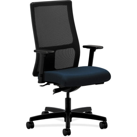 HON Ignition Mid-Back Mesh Task Chair HONIW103NT90, Blue (UPC:020459727792)