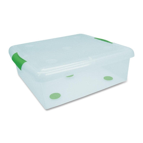 I.R.I.S Underbed Storage Box IRS170255, Green (UPC:762016441818)