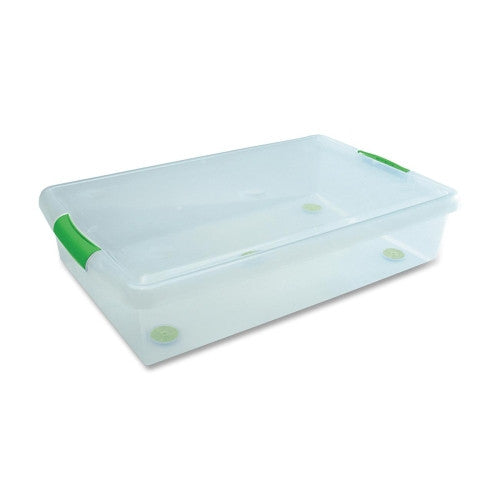 I.R.I.S Underbed Storage Box IRS170286, Green (UPC:762016441801)