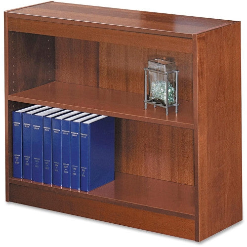 Safco Square-Edge Bookcase SAF1501CYC, Cherry (UPC:673555150140)