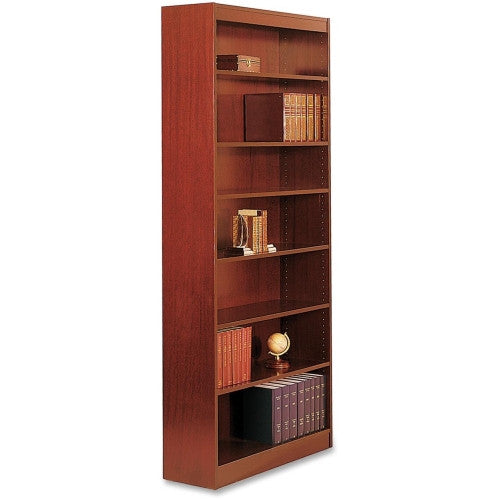 Safco Square-Edge Bookcase SAF1506CYC, Cherry (UPC:673555150645)