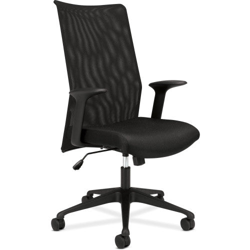 basyx by HON HVL573 Mesh High-Back Task Chair ; Color: Black; UPC: 089191618430