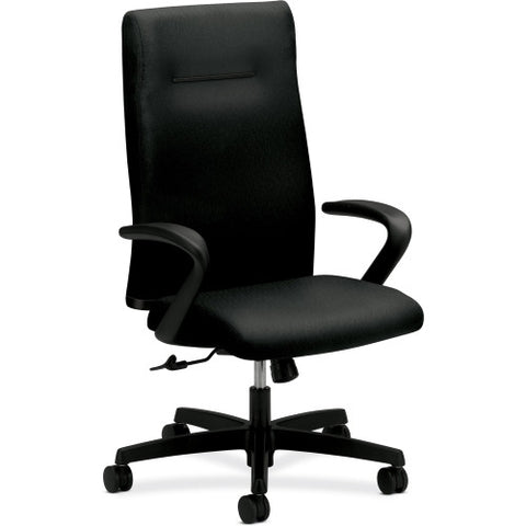 HON Ignition Executive High-Back Chair ; Color: Black; UPC: 745123548595