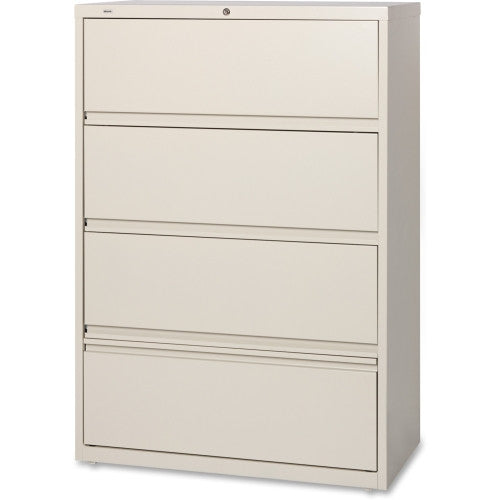 Lorell Receding Lateral File with Roll Out Shelves ; UPC: 035255435109