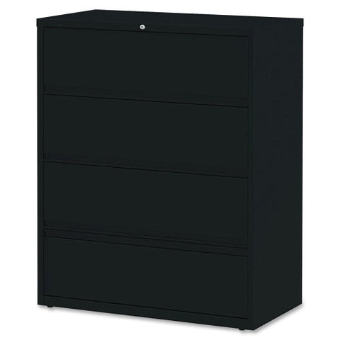 Lorell Receding Lateral File with Roll Out Shelves ; UPC: 035255435154
